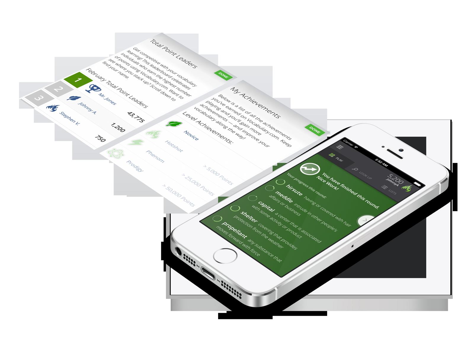 Download the Vocabulary com App